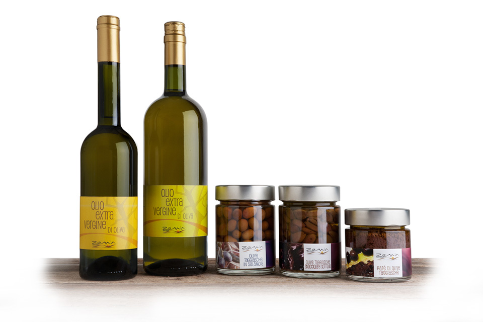 Olio e Olive prodotte da Zemin